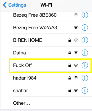 Wifi f#ck off