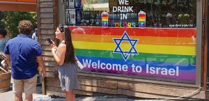 Tel Aviv Rainbow flags Raising Prices Daily Freier
