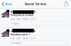 Party Daily Freier FOREX Secret Tel Aviv Roommate