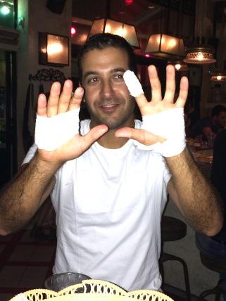 Persian man does housework Daily Freier