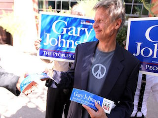 Gary Johnson suspends campaign in order to attend hacky sack tournament Daily Freier