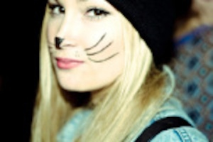 cat whiskers costume