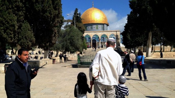 Jew Detector: Jews On Temple Mount Feeling Lost And Confused Without