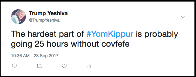Trump Yeshiva Daily Freier Yom Kovfefe