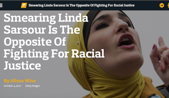 The Forward Linda Sarsour Twitter Feed